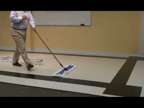 Dust Mopping Part 4 Dust Mopping The Floor Youtube