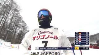 FISワールドカップスノーボード2016札幌大会[男子予選] 片山来夢 検索動画 14