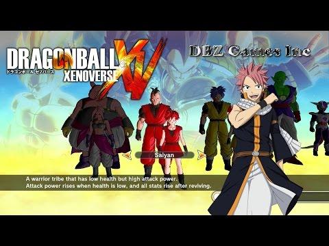 Dragon Ball Xenoverse - How To Make Natsu Dragneel - CaC