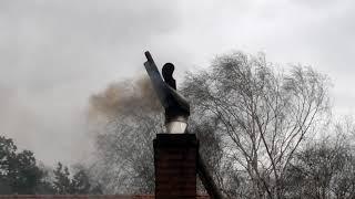 Test Strażaka na kominie Rotowent