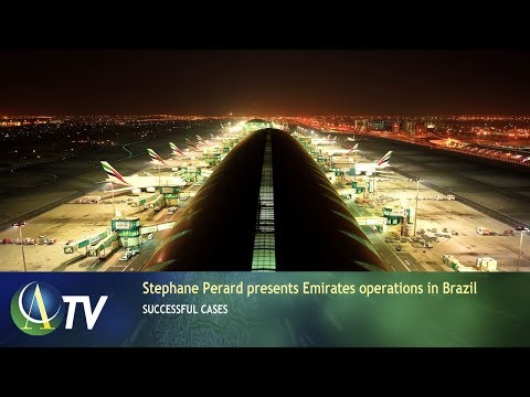 Stephane Perard presents Emirates operations in Brazil