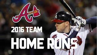 Atlanta Braves | 2016 Home Runs (122)