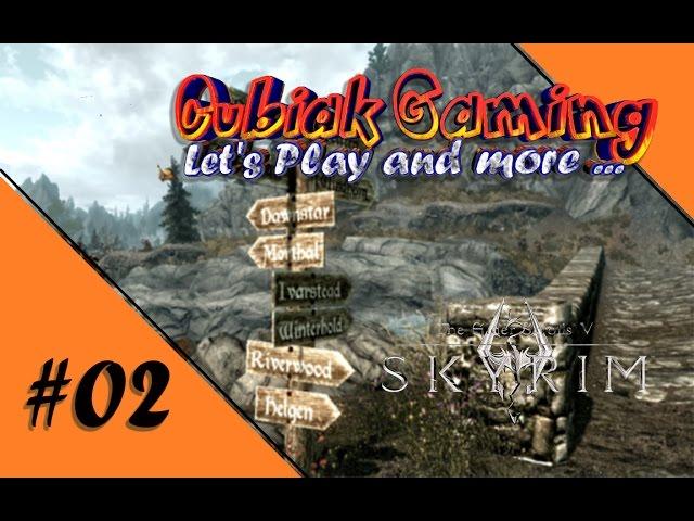 WILLKOMMEN IN FLUSSWALD ★ Let's Play The Elder Scrolls V: Skyrim Remastered #02