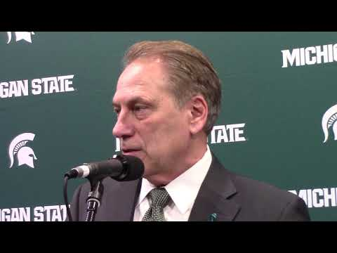 Tom Izzo after beating Penn State.