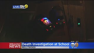 Death Of Law Enforcement Officer Under Investigation In North Hollywood