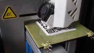 3D Printed QR Code (Time Lapse - Up Plus 2) | 3Dörtgen