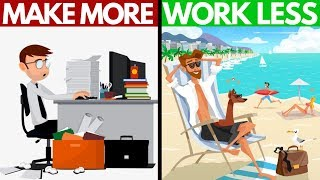 The ONE Thing They Never Taught You About MONEY | How To Make More Money By Working Less.