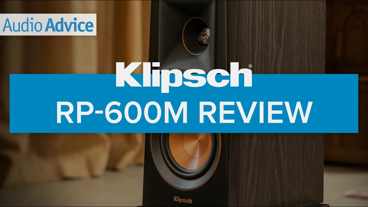Klipsch Rp 600m Reference Premiere Bookshelf Speakers Review Youtube