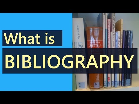 What Is Bibliography | What Is The Difference Between Reference And Bibliography