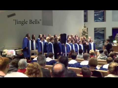 """Three Jazzy Bell Carols"" - Poland Seminary High School Women's Chorus"