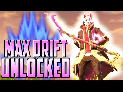 DRIFT STAGE 5 UNLOCKED! MAX DRIFT GAMEPLAY! - Fortnite Battle Royale Gameplay