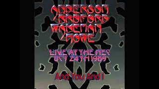 Anderson, Bruford, Wakeman, Howe NEC Birmingham - 24/10/89 (As broadcast by the BBC)