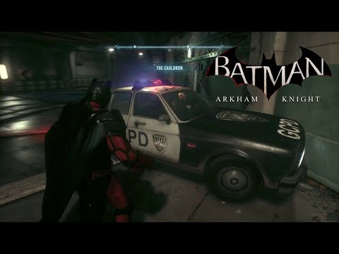 Batman Arkham Knight , you can follow the police cars back to the GCPD