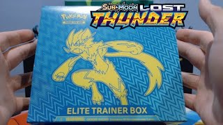 NEWEST Pokemon Lost Thunder Elite Trainer Box Opening!