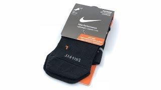 Nike Performance Lightweight Running Socks (Black)【4K】