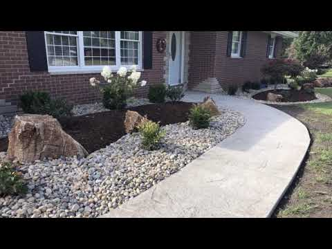 Front and Back Landscaping Project