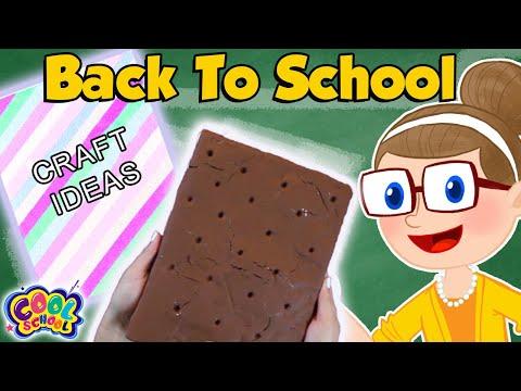 📓DIY Notebook Ideas 📓Back To School 2019 | School Crafts with Crafty Carol | Cool School