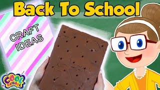 DIY Notebook Ideas Back To School 2019 | School Crafts with Crafty Carol | Cool School