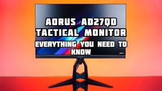 Everything you need to know about the Aorus AD27QD gaming monitor