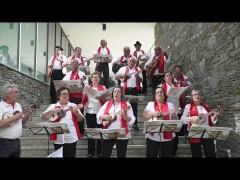 Tuna da Academia Sénior de Vila Velha de Ródão/Adraces canta e toca o «Hino de Vila Velha»