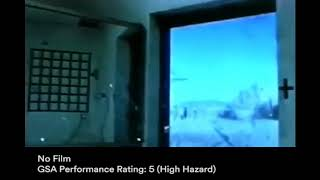 3M™ Scotchshield™ Window Film Ultra Series Blast Test