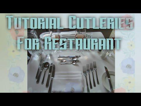Tutorial Cutleries For Restaurant