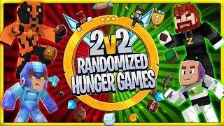 2v2 Randomized Hunger Games! #6    JeromeASF / Boomer / Sitemusic88