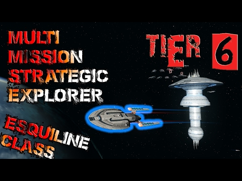 Multi-Mission Strategic Explorer [T6] – Esquiline Class – with all ship visuals - Star Trek Online