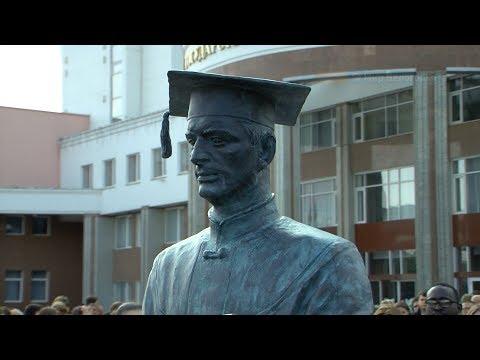 Новый памятник ко дню рождения БелГУ
