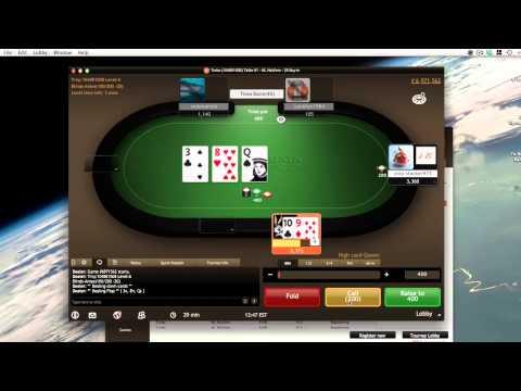 Poker Action - NJ BorgataPoker Online $5 Turbo SNG Sit n Go