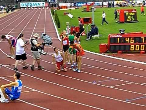 Adam Kszczot, winner 800m ME under 23 years, Ostrava