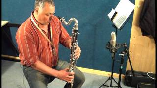 JP122 bass clarinet demonstration by Pete Long - John Packer Ltd