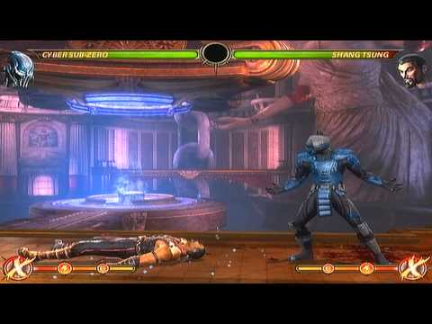 11 New Cyber Sub-Zero Combos from 132% to 59% in damage - MK9
