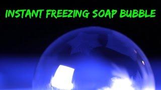 מדהים , בועת סבון קפואה