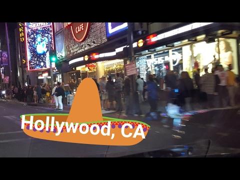 Los Angeles Night Driving Tour: Cinco de Mayo, Sunset Blvd & Hollywood  Blvd