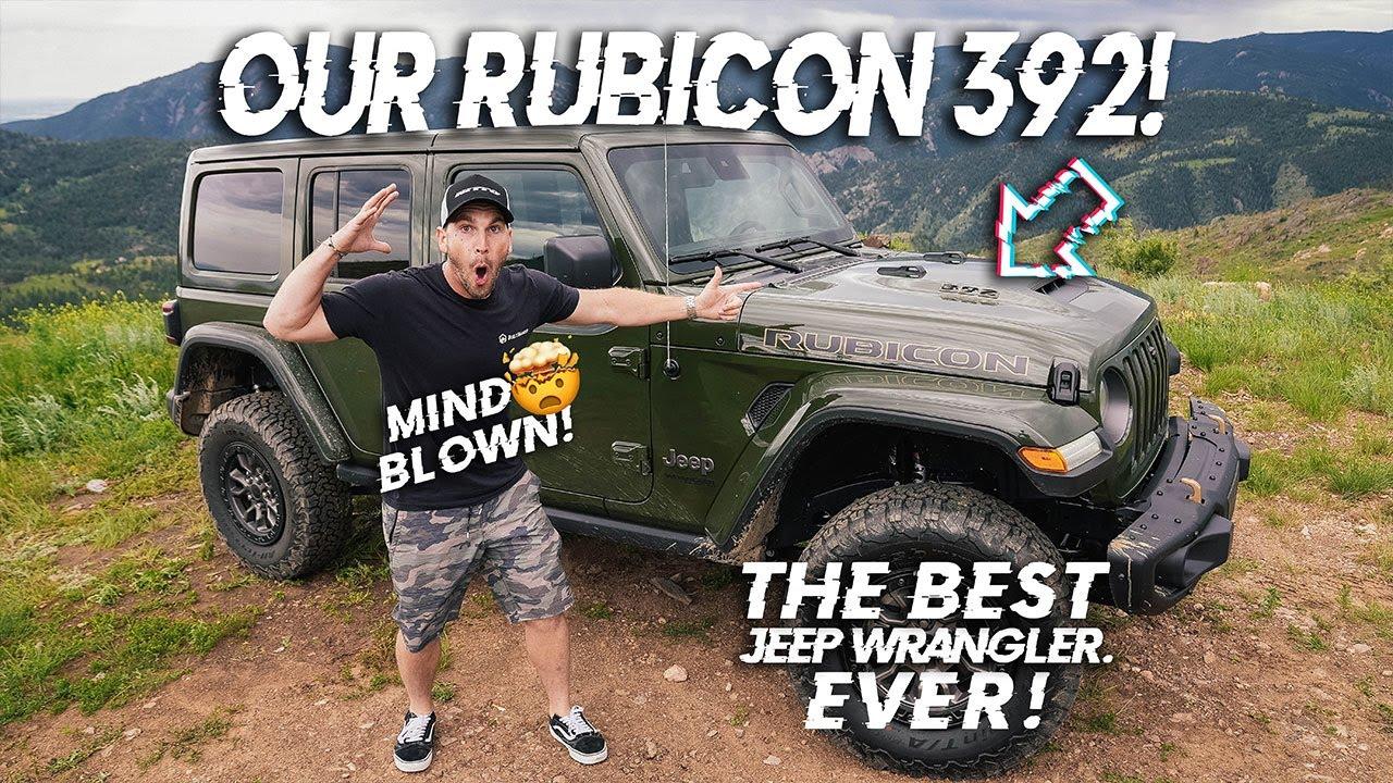 2021 V8 Wrangler Review (Rubicon 392) | Built2Wander