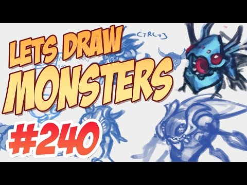 KNKL SHOW 240: Let's draw Monsters!