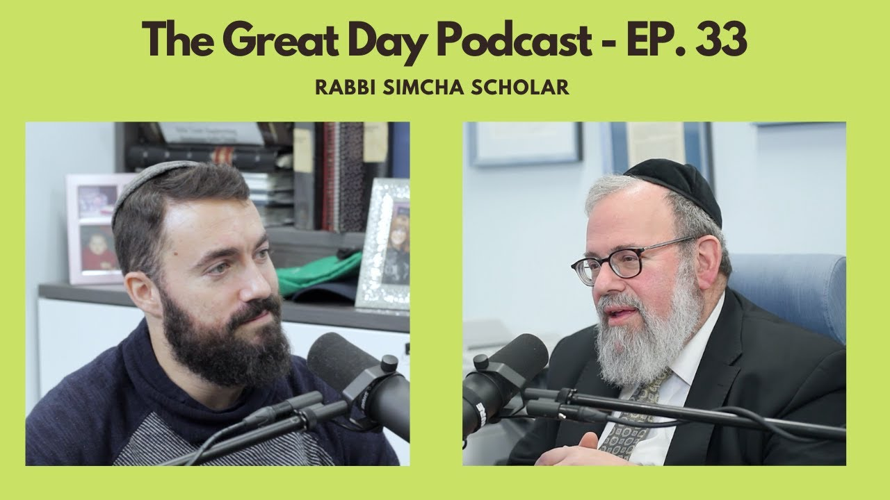 Rabbi Simcha Scholar - Fighting Illness with Love - (Ep. 33)