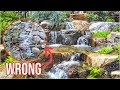 WATERFALL Done WRONG   Garden Water Feature