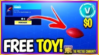 This NEW Fortnite ITEM Costs $0 V-BUCKS! ''FREE TOY'' (Fortnite Daily Item Shop February 2nd-3rd)