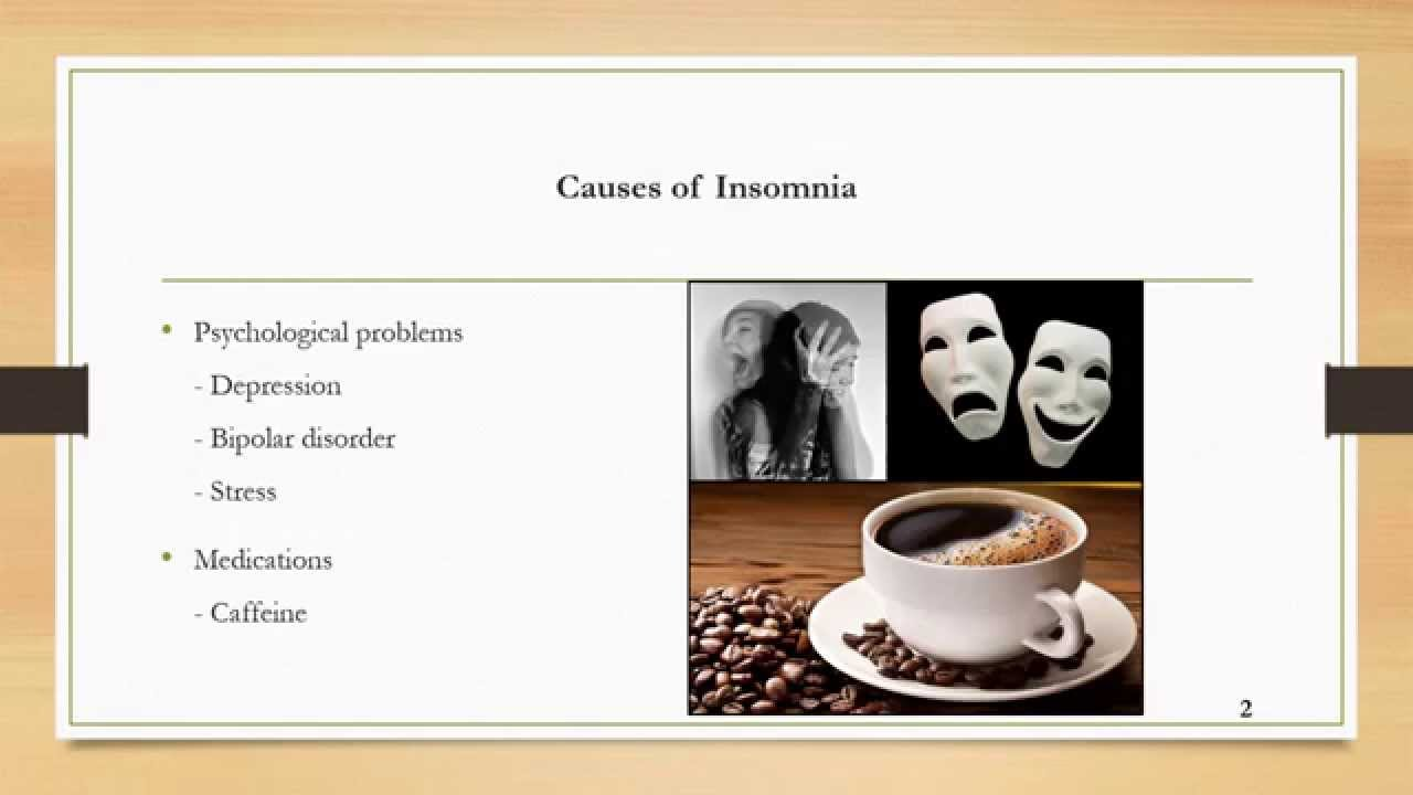 causes and effects of insomnia and other sleeping disorders