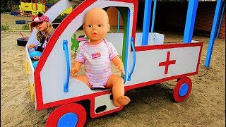 Outdoor Playground For Kids with Baby Born Doll