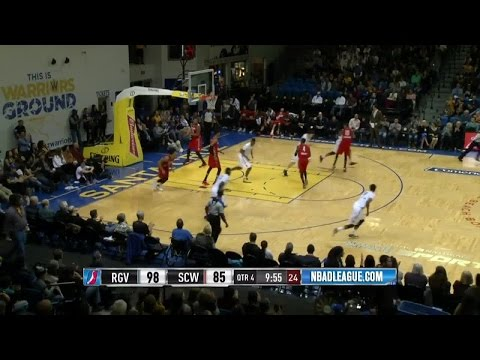 Highlights: Kevon Looney (8 points)  vs. the Vipers, 1/23/2016