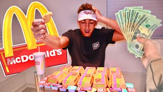 $10 For Every McDonald's Chicken Nugget He Eats... ($1,000)