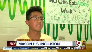 Mason students working to make sure no one eats lunch alone