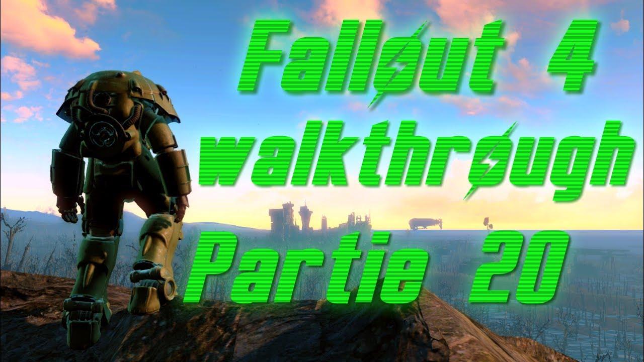 Fallout 4 Walkthrough Partie 20 - YouTube