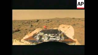 USA: PATHFINDER SPACE PROBE SENDS PICTURES BACK FROM MARS UPDATE