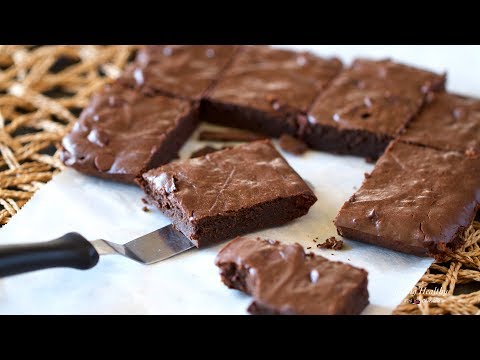 Healthy Fudgy Brownies (Nut-free, Grain-free, Gluten-free, Low Carb, Paleo)
