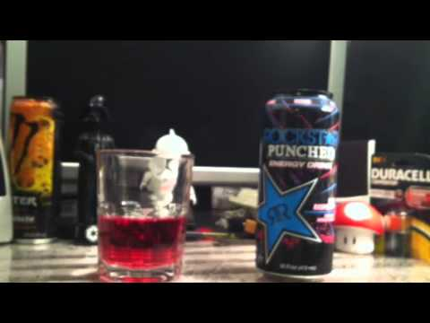 Rockstar Energy Drink - Punched Blueberry review