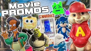 A Look at Movie Merchandise & Promotions - SpongeBob, Shrek, Sonic & More!